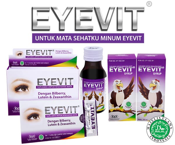 Eyevit Eye Vitamins: Eye Vitamins Era Digital are available in caplets and syrups for children and adults.